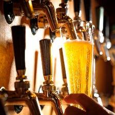 樽生クラフトビール常備20種以上!