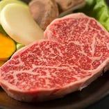 絶品贅沢!上州和牛リブ芯ステーキは人気の一品☆