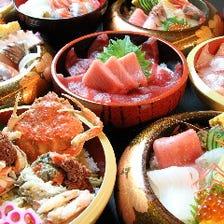 能登の海の幸を海鮮丼で贅沢に!!