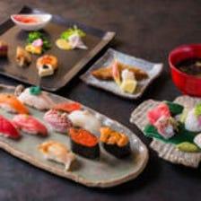 おまかせ鮨コース(お料理のみ)<北海道の食材を中心に、その日一番美味しいネタをご提供>