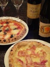 ピッツァ&ワイン