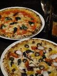 ピッツァは18種類