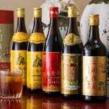 紹興酒も豊富なラインナップ♪本場中国の味をご堪能ください!!