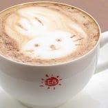 かわいい動物のモカ☆アーリーはコーヒー豆にこだわってます