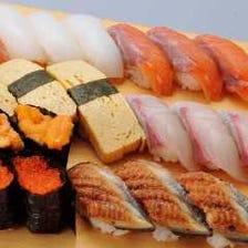 【宴会に◎】職人が握る寿司70種以上『飲み放題付♪にぎり寿司食べ放題コース』★女性グループは500円オフ