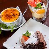 ケーキセット (お好きなケーキ+セットドリンク各種)