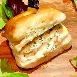 クリームチーズはちみつサンド