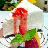 レアチーズケーキ