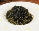 数量限定!!自家製いかすみソースのスパゲッティ