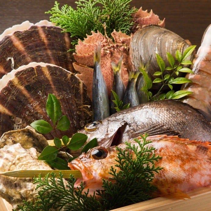 九州各地の厳選食材を使用。