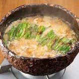 炙り味噌もつ鍋