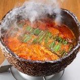 炙りチゲもつ鍋