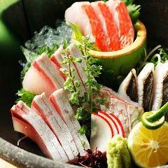 鮮魚刺身 各種