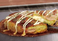 まるごとカマンベールチーズのミルフィーユ焼き