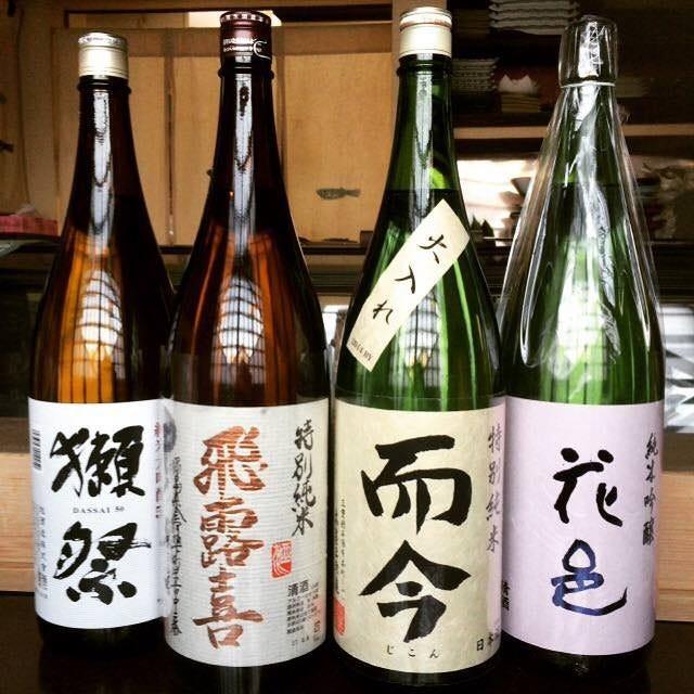 こだわりの日本酒多数ございます!