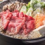 牛肉すき焼き鍋 1人前 990円(税抜)