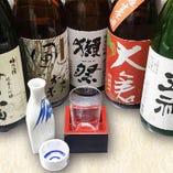 奈良近隣の地酒がズラリ! 日本酒通が集まるたち花