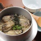 海のミルクと言われる「牡蠣」。旬の旨味をご賞味ください