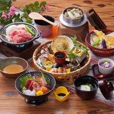 季節の恵みを味わうお料理をご提供