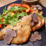 若鶏のハーブグリル~トリュフのソース~