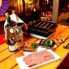 新たな名物「石州瓦」の厳選焼肉料理