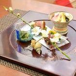 接待・御祝いのお食事に華やかな和洋季節料理を