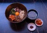 お得なランチ始まりました☆スープ、キムチ付き!