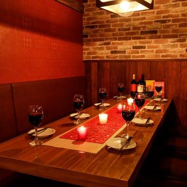 ラクレットチーズ×個室肉バル 高槻肉の会 店内の画像