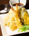 素材に自信があるので、天ぷらで他との差が出ます!
