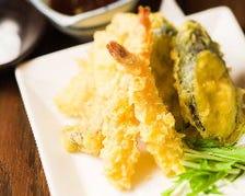 【揚げたて!】サクサクの天ぷらを!