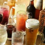 2時間飲み放題【プレミアムプラン】生ビール付き・約60種