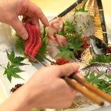 【 築地直送 】旬を堪能できる、新鮮魚介