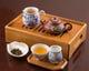 本格的な茶器を使って、ゆっくりとお茶をお楽しみいただけます。