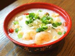 海老と貝柱の中華粥