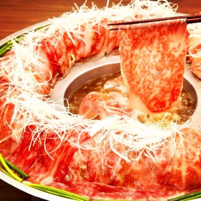 《肉炊きしゃぶしゃぶ》《タンしゃぶ》の贅沢な食べ放題プラン♪