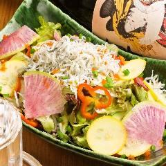 地場野菜サラダ