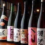 地元埼玉をはじめ全国の銘酒がずらり