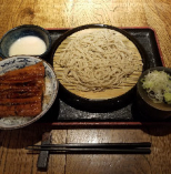 大うなぎ丼と手打ち蕎麦セット(とろろ付)