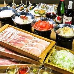 コラーゲンしゃぶしゃぶとワイン GINZA春夏秋豚 コリドー店