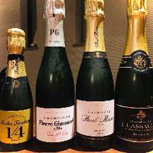 サイズの種類も豊富!シャンパン