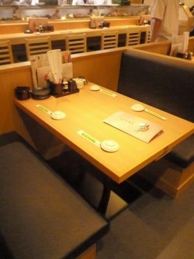 すしざむらい 横浜西口南幸店 店内の画像