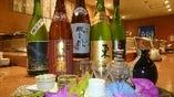 黒龍・磯自慢をはじめ美味な地酒 季節のおすすめなど