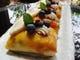 レアチーズとフルーツのクレープ包み