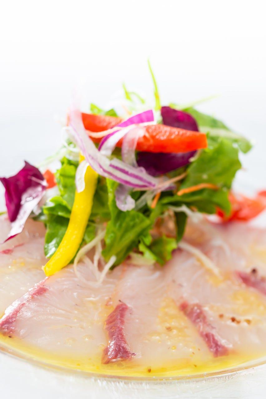 素材の持ち味を存分に生かした地産地消お魚料理