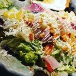 「海鮮サラダ」