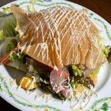 「パリパリドームのなごみサラダ」
