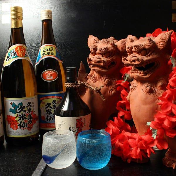 沖縄で愛される『泡盛』の数々