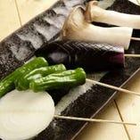 焼き野菜五種