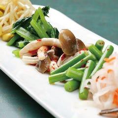 野菜のナムル6種盛り