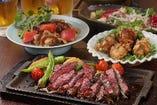 ●がっつり肉好きなあなたと、しっかり飲みたいあなたへ。飲み放題も充実●